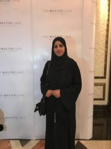 That's me at the @makeupbymario Masterclass in Dubai!