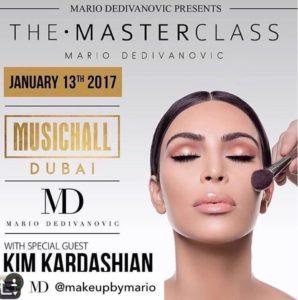 @makeupbyMario Masterclass Poster