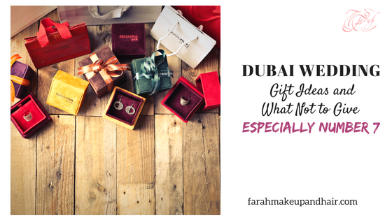 "Attending a Dubai Wedding is so much different than attending a wedding in your native city. If the couple are expats and living in the UAE or having a destination wedding, they have a much different lifestyle than just your relative living in the next street. When there is no wedding registry, it becomes a challenge to think of a special gift the couple will appreciate. All gifts given with thoughtfulness and love will be appreciated but what gifts are not ideal so your money will not be wasted, and what gift will the bride or couple love? Read on!  Here are my ""What NOT to give"" and alternative Dubai Wedding Gift Ideas!"
