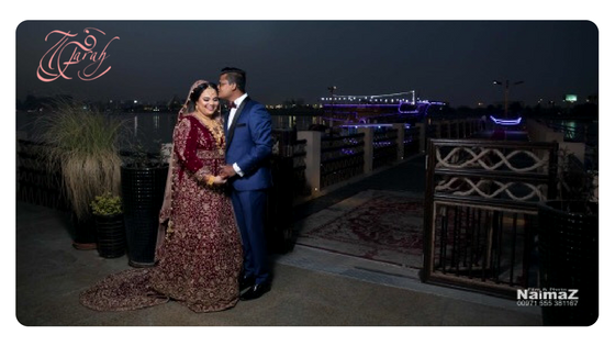 My client Khadeeja had a very lovely dhow cruise wedding event.