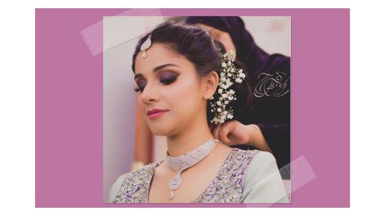 Farah Makeup and Hairstylist Dubai Wedding 4