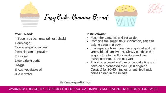 Dubai Banana Bread Recipe