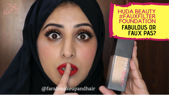 Huda Beauty #FauxFilter Review